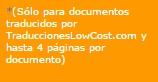 Información sobre copias de traducciones juradas