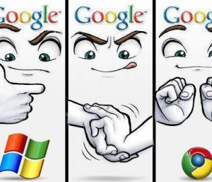 GOOGLE CHROME VS. EXPLORER