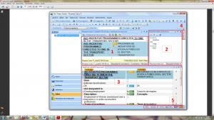Interfaz de SDL Trados Studio