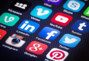 redes sociales traducción