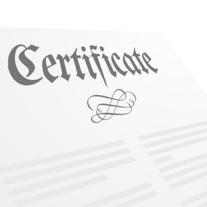 certificados profesionales