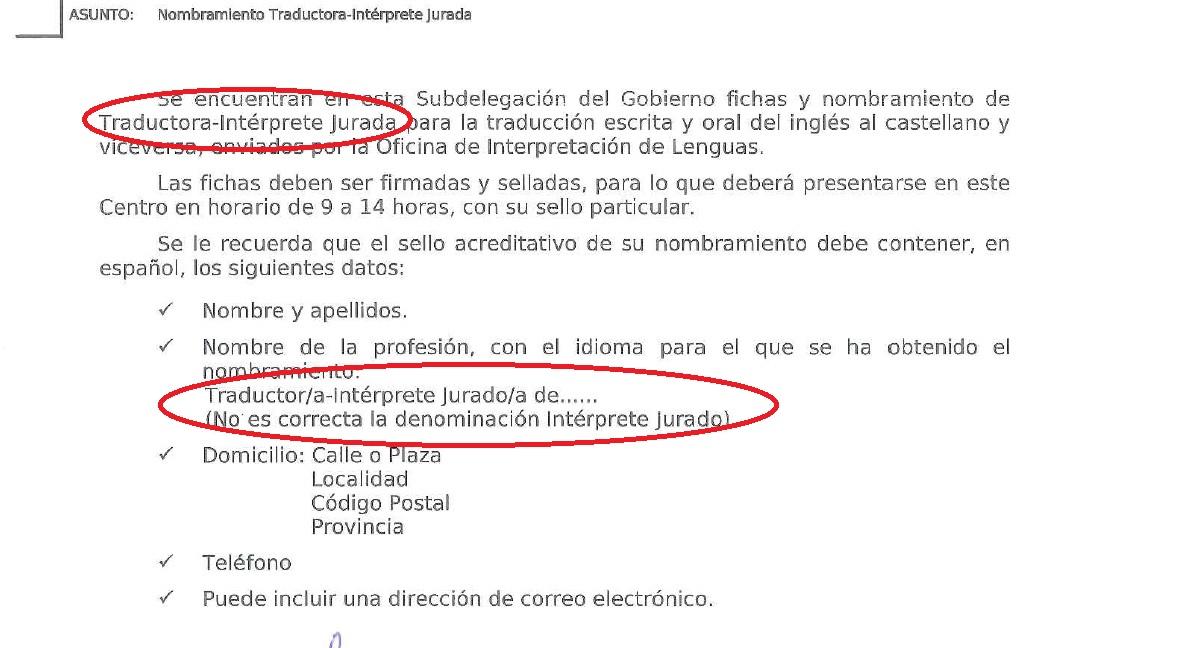 carta nombramiento 2013