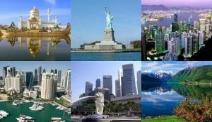 paises ricos del mundo