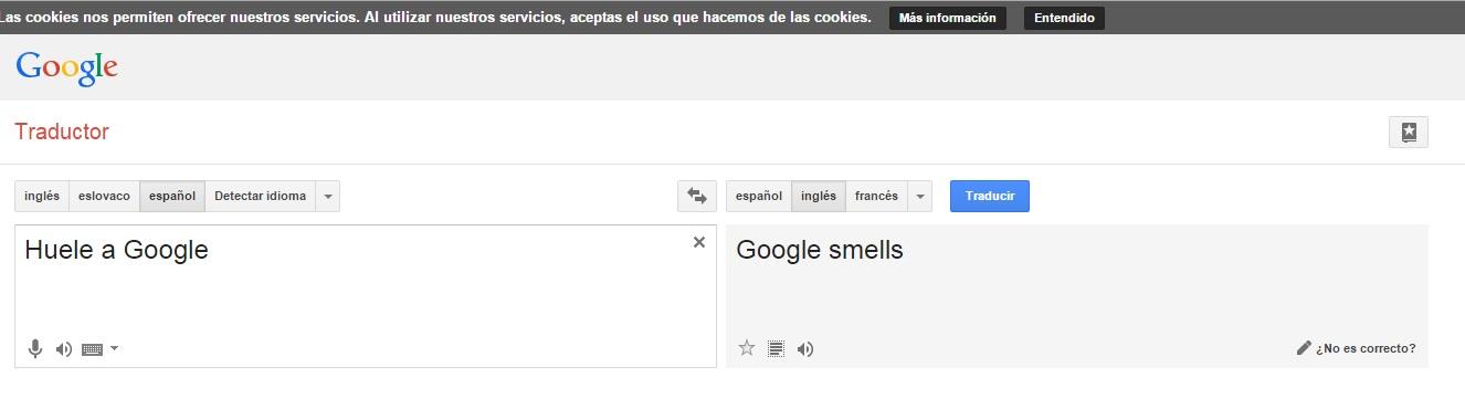 traductor google de español a ingles americano
