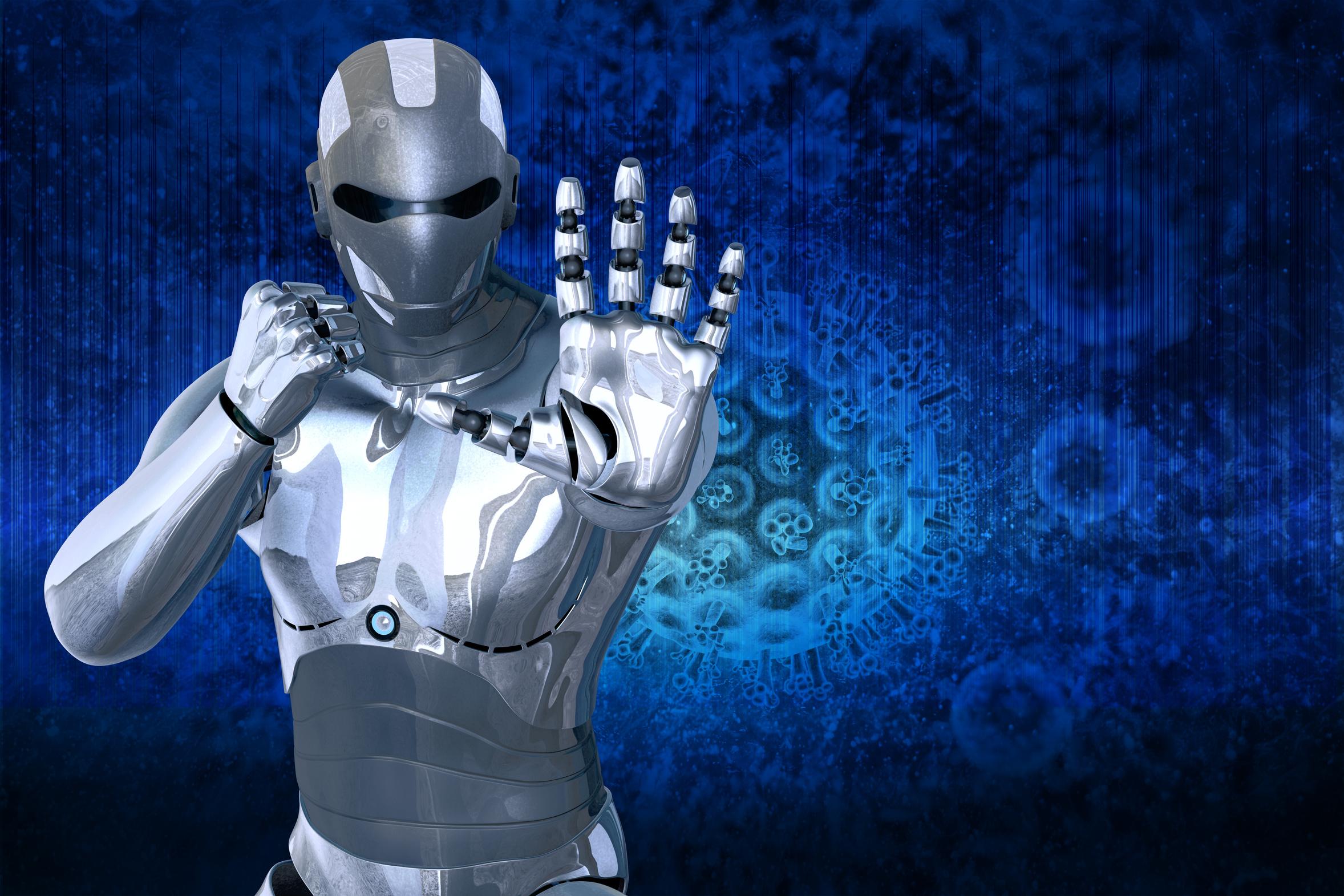 robots de letras