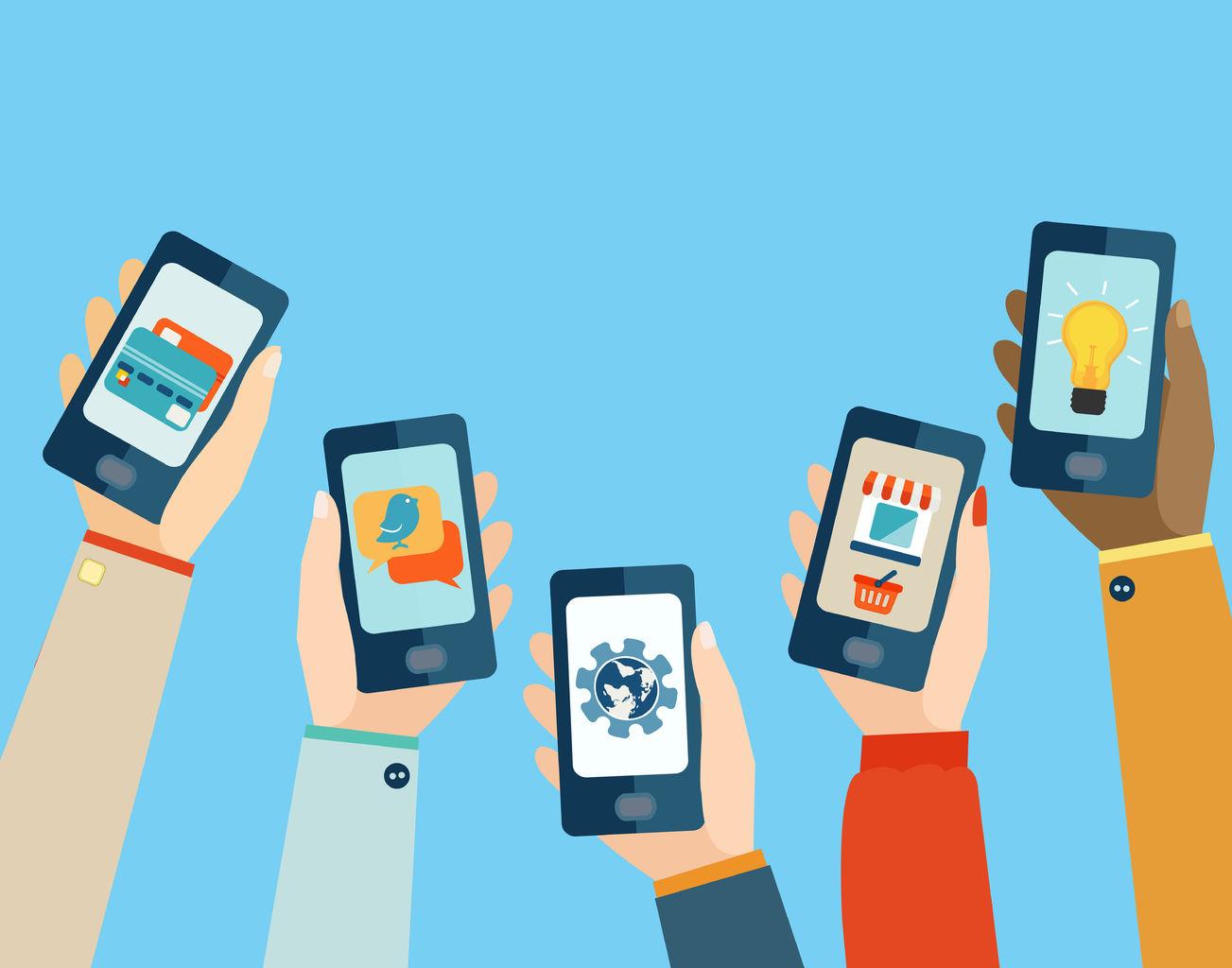 Aplicaciones en móviles.