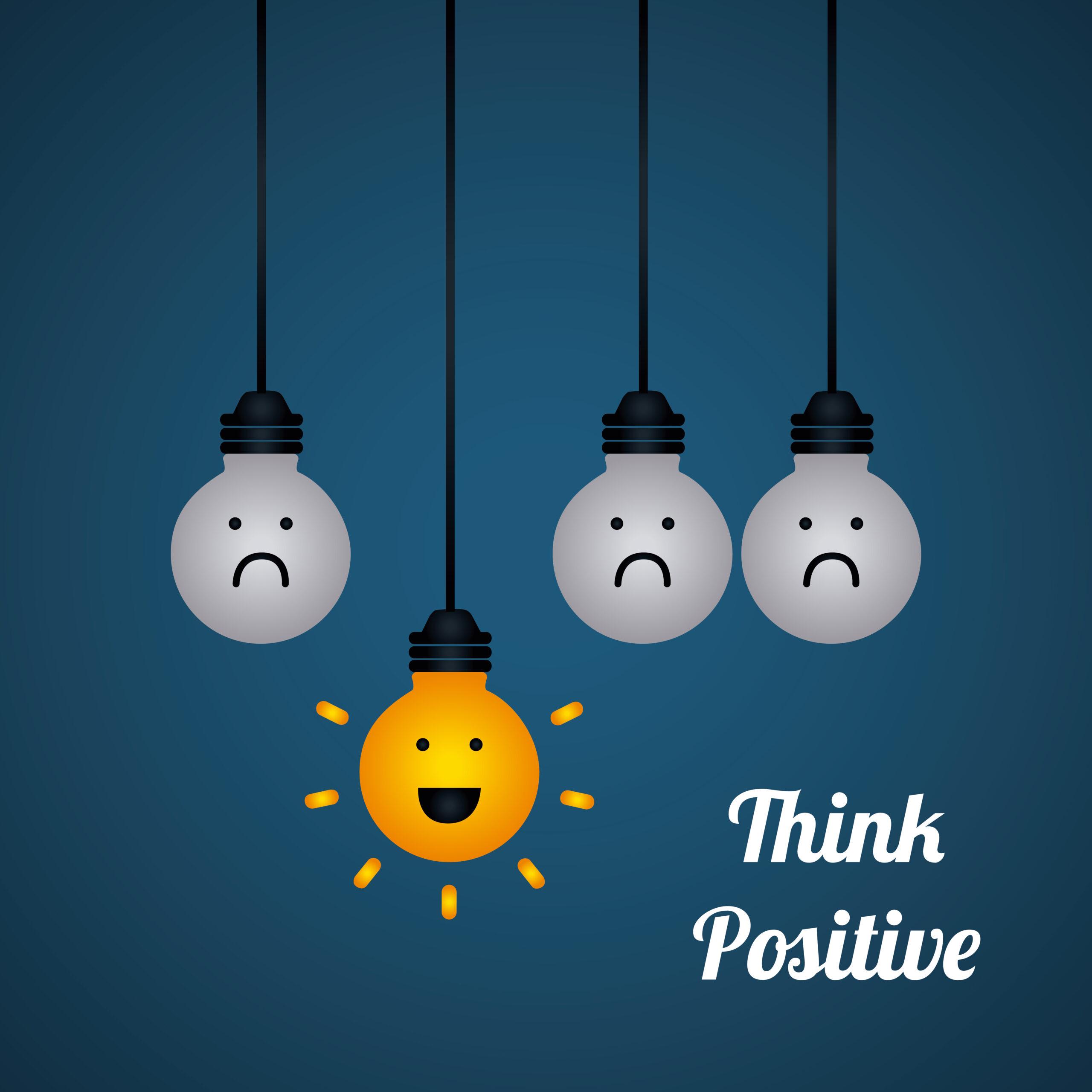 El valor de pensar en positivo