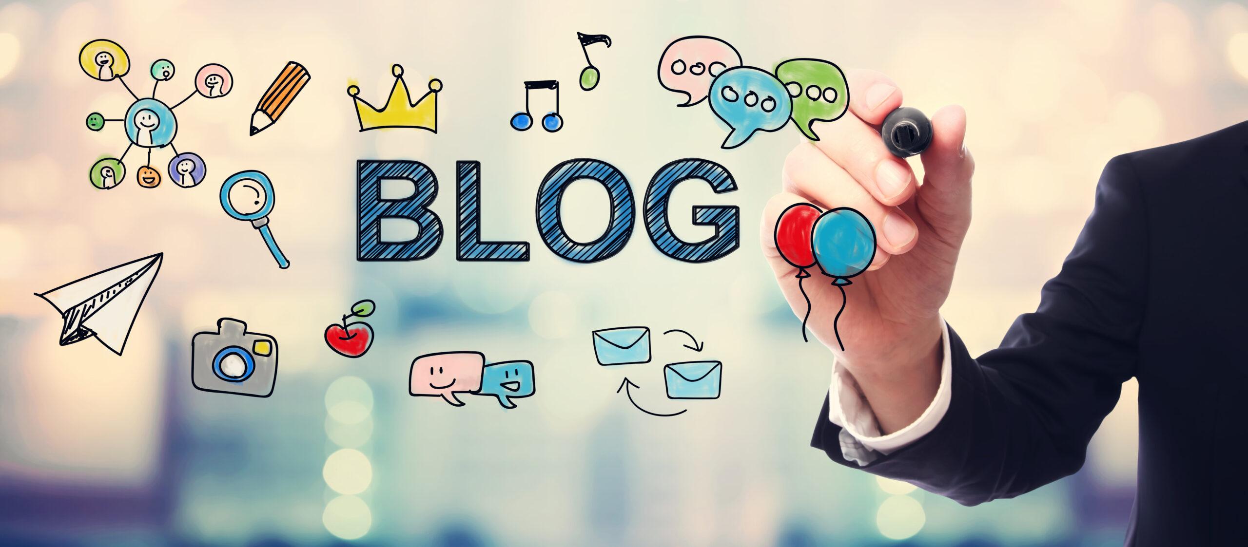 Escribir tus propios artículos de blog