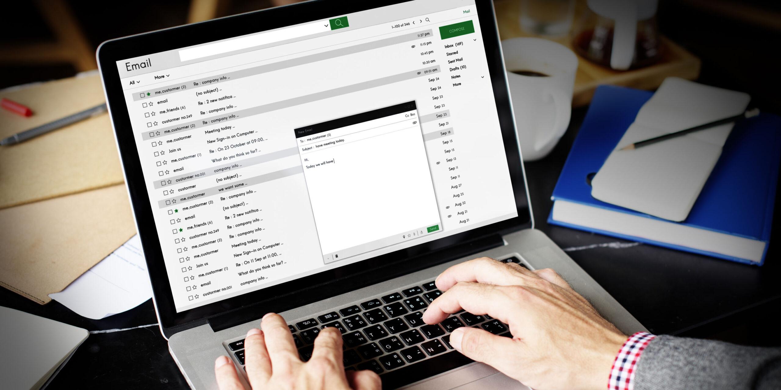 Guía práctica para redactar un correo electrónico