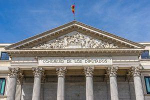 Congreso de los Diputados (Congress of Deputies), Spanish Parliament in Madrid