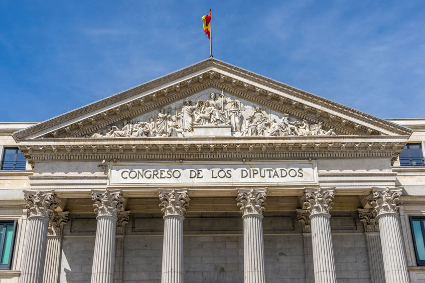 Congreso de los Diputados (Congress of Deputies), Spanish Parliament in Madrid
