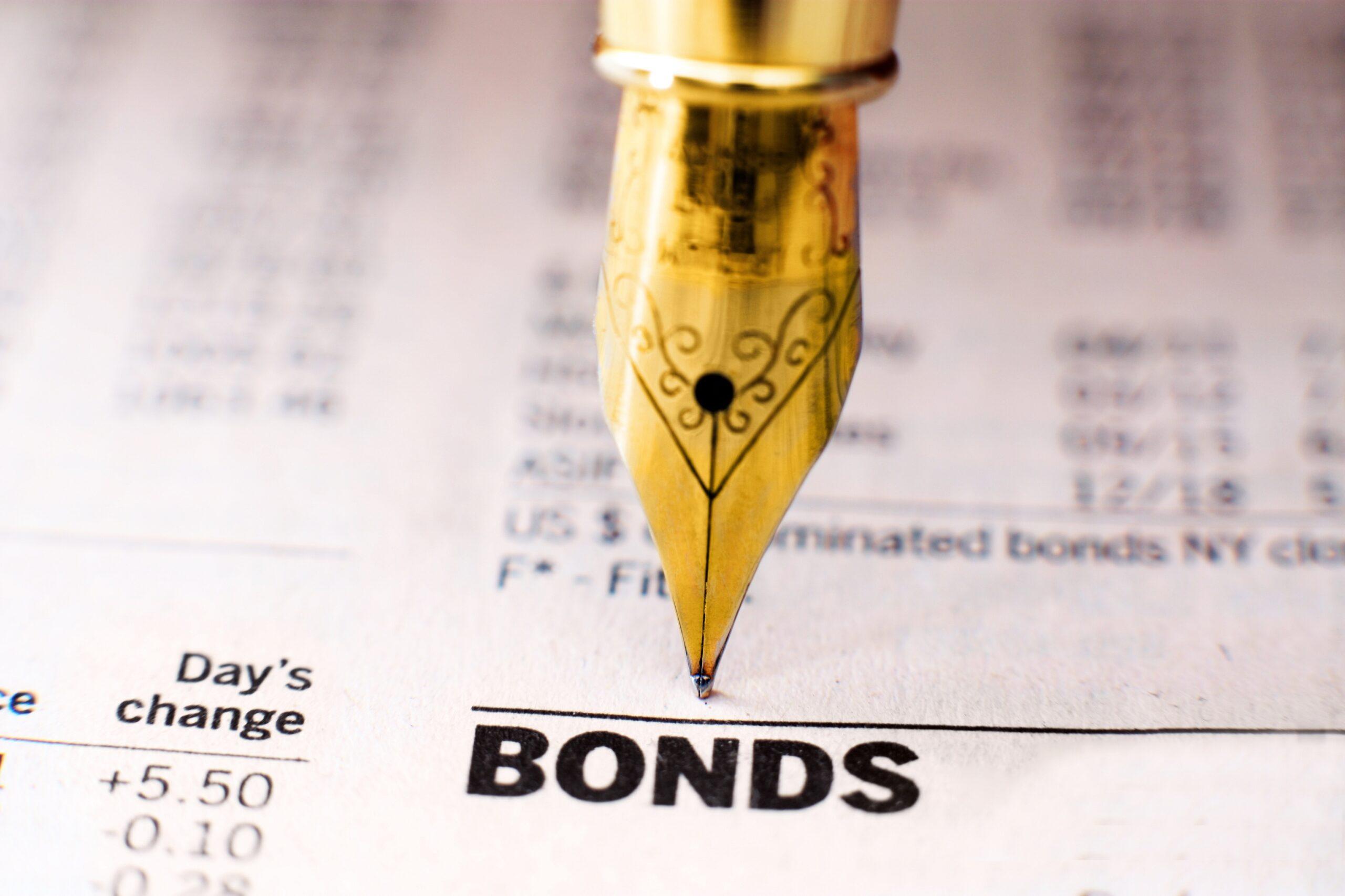 La traducción de términos de bonos.