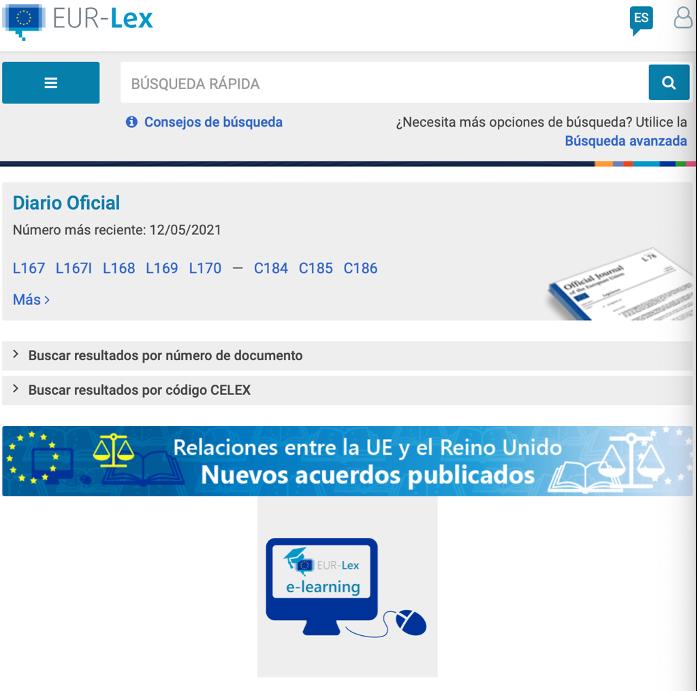 Recursos para traductores EURLEX