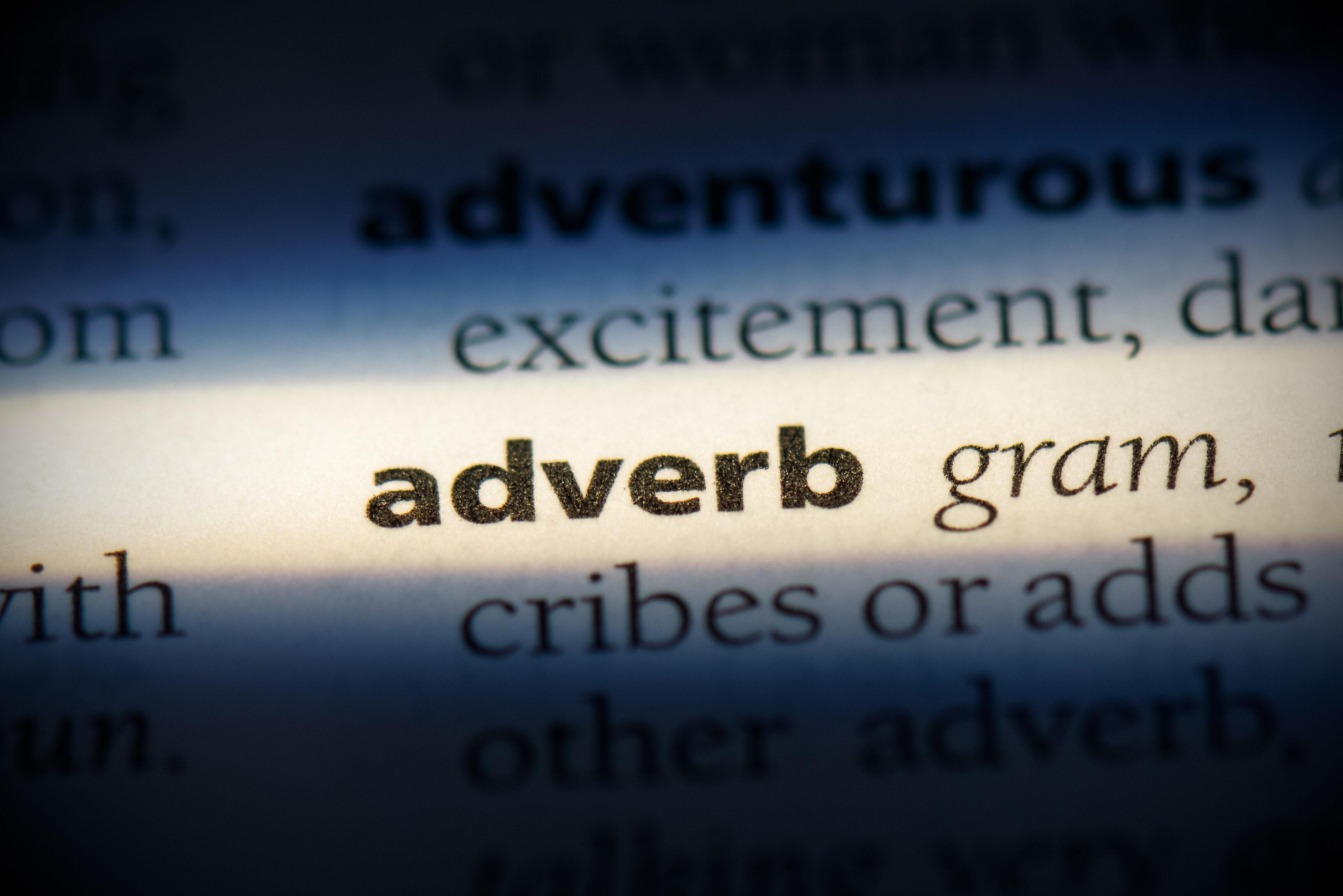 Adverbios de lugar y artículos posesivos